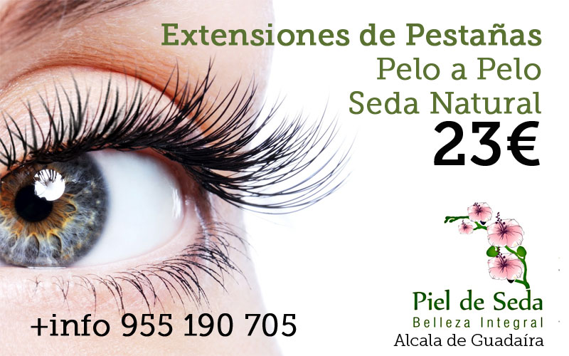 Promoción Extensiones de pestañas en Alcalá de Guadaíra