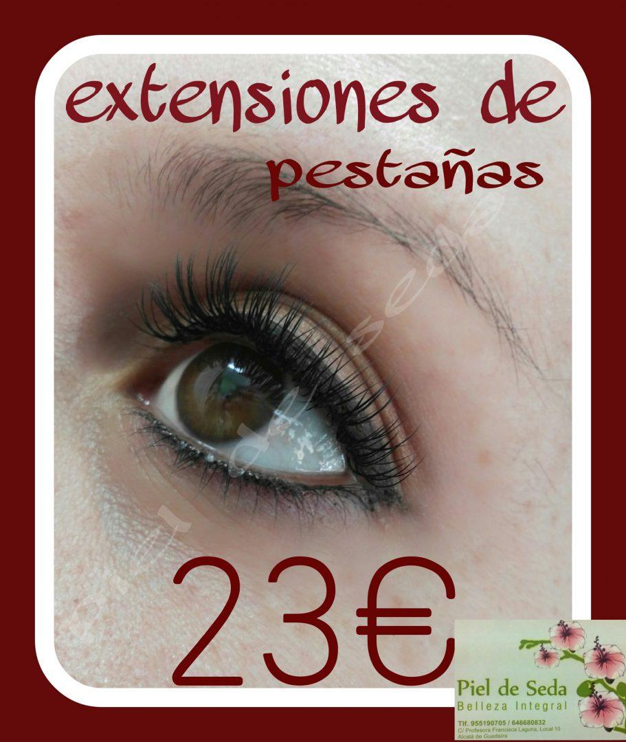 Extensiones de Pestañas en Alcalá de Guadaíra por 23 euros