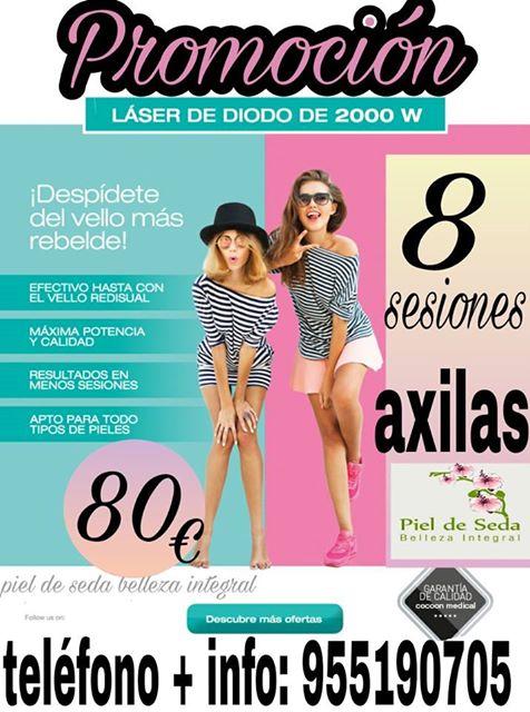 Oferta Depilación Läser en Alcalá de Guadaíra