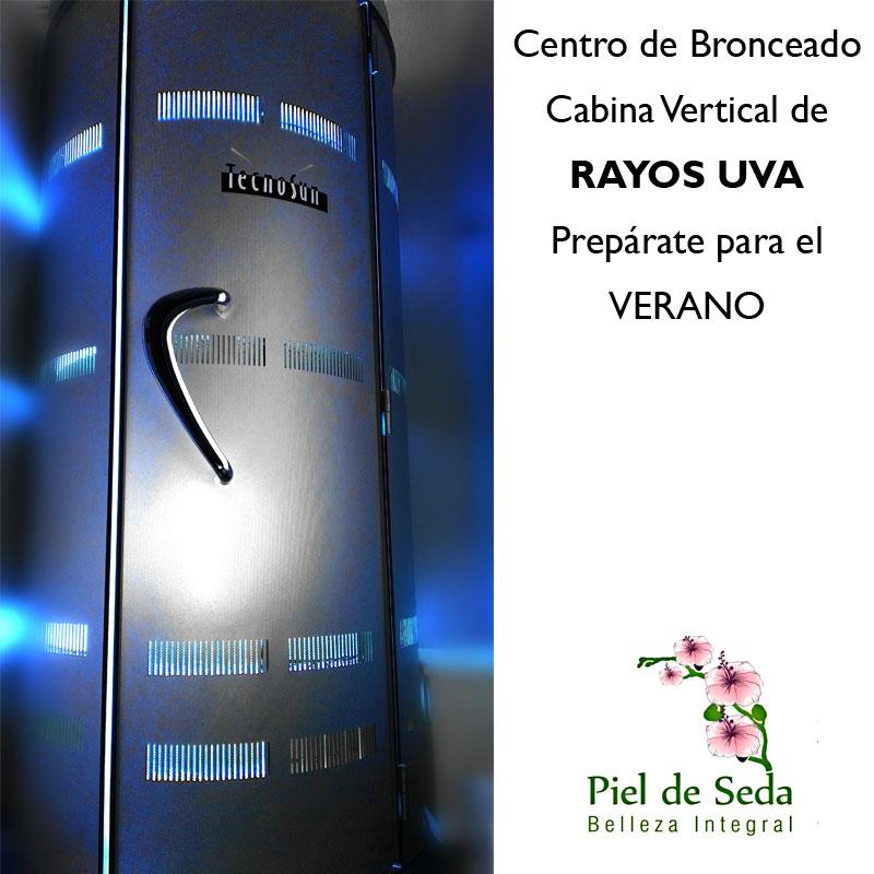 Cabina Rayos UVA en Alcalá de Guadaíra